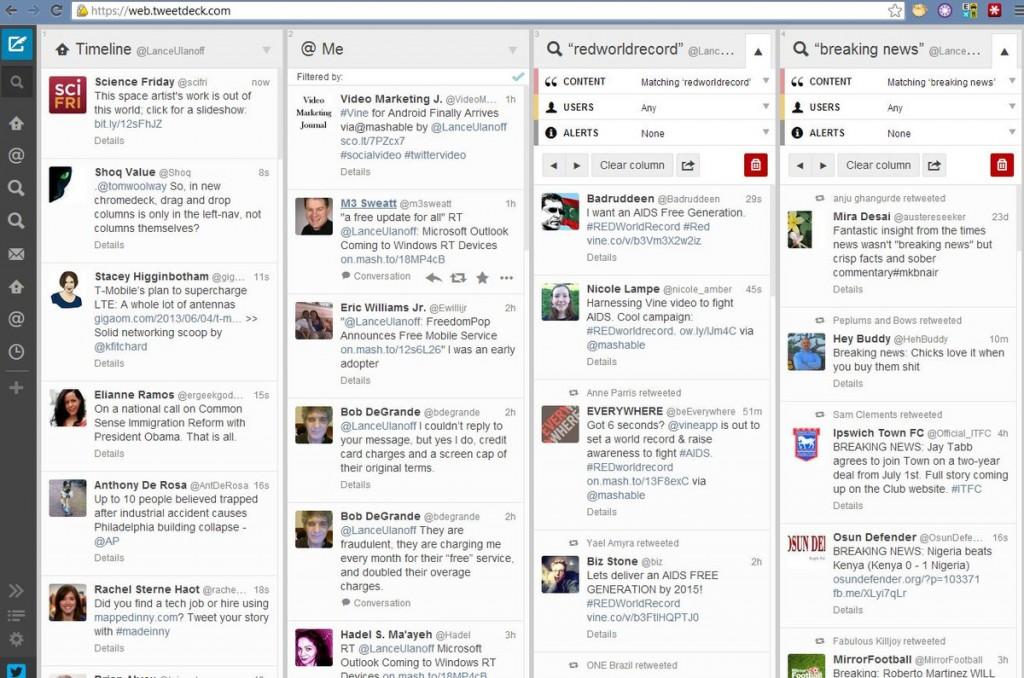 TweetDeck : utile pour les agences web à Bordeaux