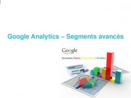 Agences web bordeaux les segments avancés par google analytics