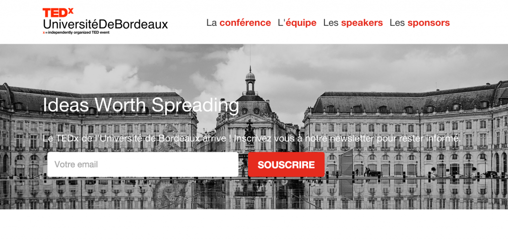 Agence Webmarketing Bordeaux - TEDx université bordeaux